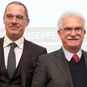 Francesco Pirocchi Mediass con Raffaele Bonanni Presidente della Società.