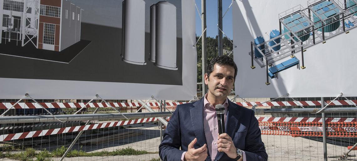 Il grande obiettivo di Domenico Greco, presidente e Ad di Società Chimica Bussi
